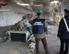 Cinisello, i carabinieri sequestrano un capannone adibito a discarica abusiva