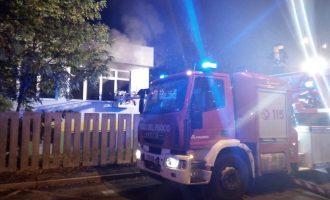 Cinisello, incendio al Centro Cottura di via Monfalcone