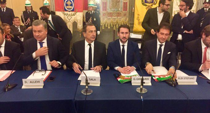 Sindaci uniti a Monza per chiedere al Governo i fondi per la M5