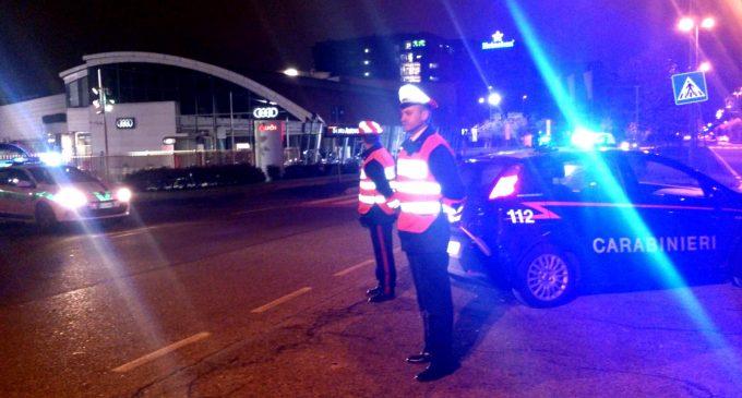 Sesto, notte di controlli dei carabinieri: una denuncia e due patenti ritirate
