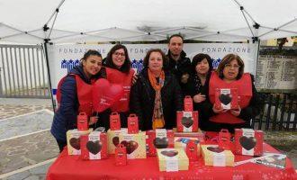 Telethon: volontari in piazza anche nel Nordmilano per raccogliere fondi
