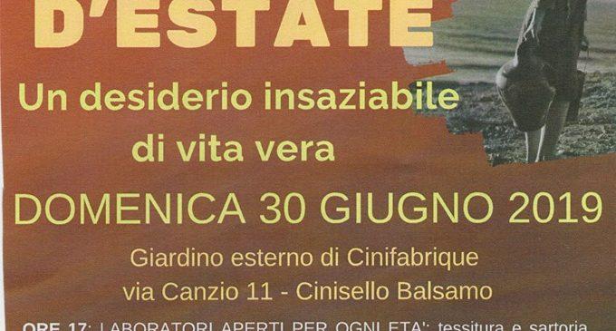 Cinifabrique, Grande Festa d'Estate, domenica 30 giugno