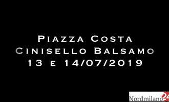 Cinisello Balsamo, Piazza Costa in festa