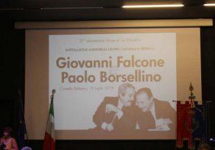 L'inaugurazione dell'Auditorium del Pertini a Giovanni Falcone e Paolo Borsellino