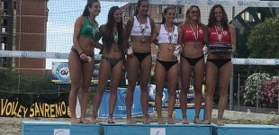 La sestese Elisa Salvador campionessa di beach volley Under 21