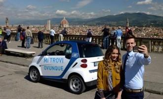 Car sharing a Milano la capitale del noleggio