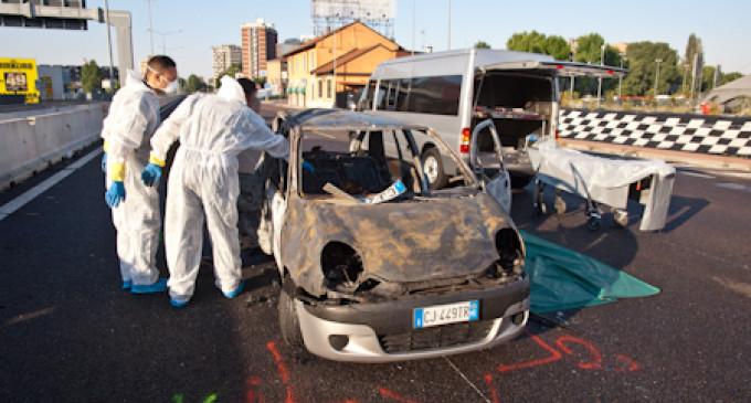 Inferno sulla Statale 36, morte due giovani donne