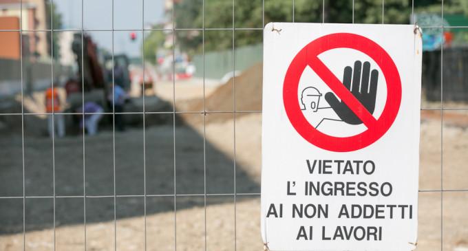 Lavori a Sesto: cantiere in via San Maurizio al Lambro fino a fine agosto