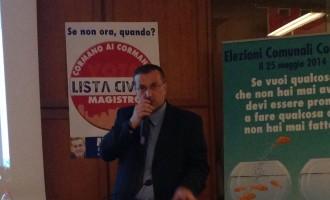Insulti a Luigi Magistro: ecco il comunicato completo del consigliere