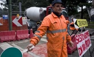 Prolungamento M1: il cantiere prosegue ma gli operai lavorano gratis