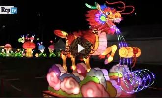 VIDEO: Il Festival delle lanterne cinesi illumina Monza