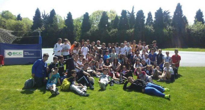 La scuola Garcia vince i Campionati studenteschi di Atletica a Cinisello