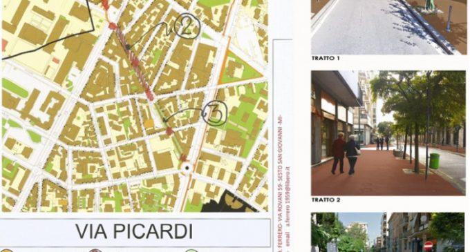 """Via Picardi, la via dei colori"": nuovo sondaggio a Sesto su ""Dico la mia"""