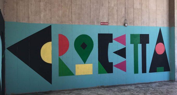 Cinisello, modificato il murales in largo Milano. Al posto di Acab c'è scritto Crocetta