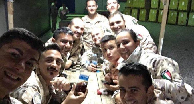 Alpini Cinisello: gli auguri arrivano dalla missione di pace in Iraq
