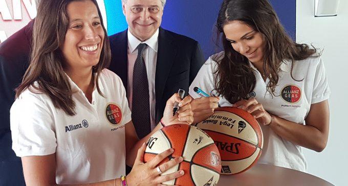 L'Allianz Geas Basket pronta all'esordio in A1