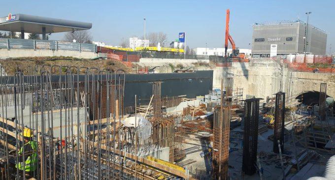 Cantiere M1, proseguono i lavori. Aperta la galleria al capolinea Bettola