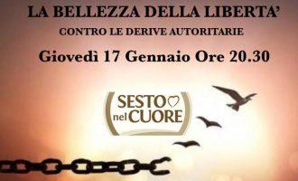 Sesto, giovedì l'incontro di Sesto nel Cuore contro le derive autoritarie