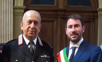 Cinisello Balsamo, il congedo del comandante Bernardo Aiello