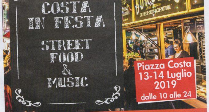 Cinisello Balsamo, due giorni di festa in piazza Costa con musica e street food