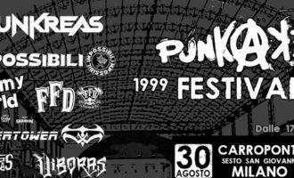 Sesto San Giovanni, al Carroponte il Punkadeka Festival con i Punkreas