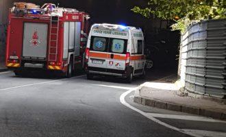 Cinisello Balsamo, incidente stradale nel sottopasso dell'ex centro commerciale Auchan
