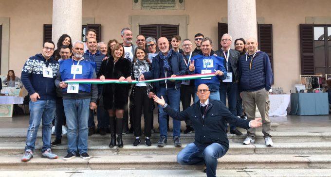 Cinisello Balsamo, la prima edizione di MercARTE a Villa Ghirlanda (le foto della giornata)