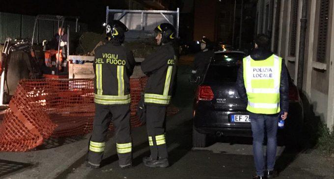 Cinisello Balsamo, paura nella notte per una fuga di gas a Villa Rachele