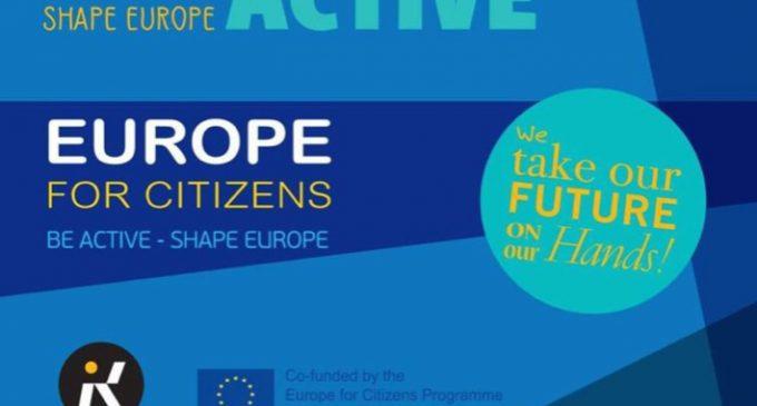 Cinisello Balsamo, Be Active Shape Europe: I want you!