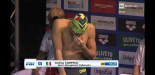 Sesto San Giovanni, il sestese Andrea Campolo vince i 100fa al 46° trofeo Nico Sapio di Genova