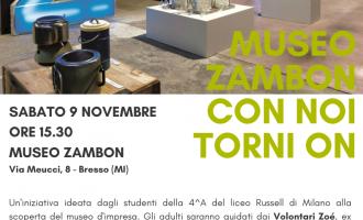 Bresso, la settimana della cultura d'impresa fa tappa al Museo Zambon