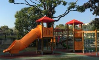 Cinisello Balsamo, i lavori per la riqualificazione delle aree gioco nei giardini e parchi pubblici