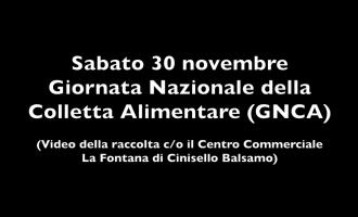 Giornata Nazionale della Colletta Alimentare (Guarda il video della raccolta c/o il Centro Commerciale La Fontana di Cinisello Balsamo)