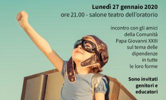 """Cinisello Balsamo: """"Dipendenti da chi?"""", la sfida di essere liberi stasera alla Sacra Famiglia"""