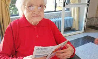 Cinisello Balsamo, la festa per Teresa Ardiri che ha compiuto 104 anni