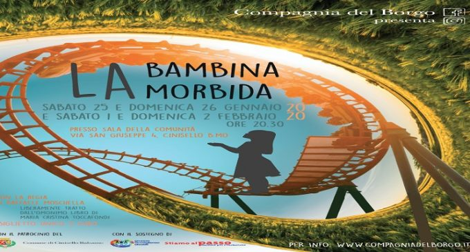 Cinisello Balsamo: la bambina morbida va in scena