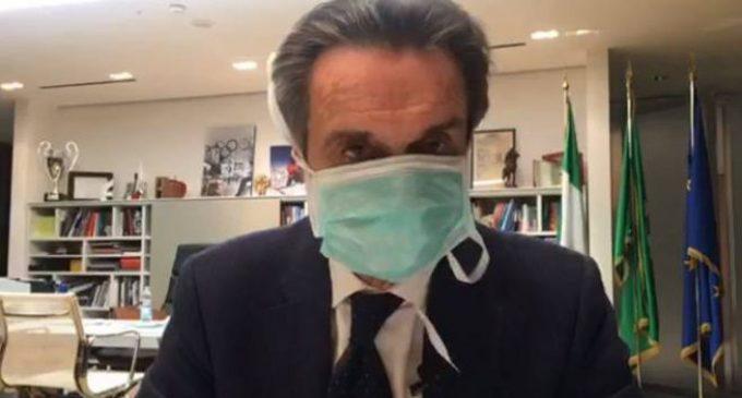"""""""Siamo vicini alla zona rossa"""": Fontana lancia l'allarme per la Lombardia. Oggi nel milanese 641 nuovi positivi"""