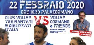 """""""Cormano per la vita"""", con l'Italia Volley trapiantati"""