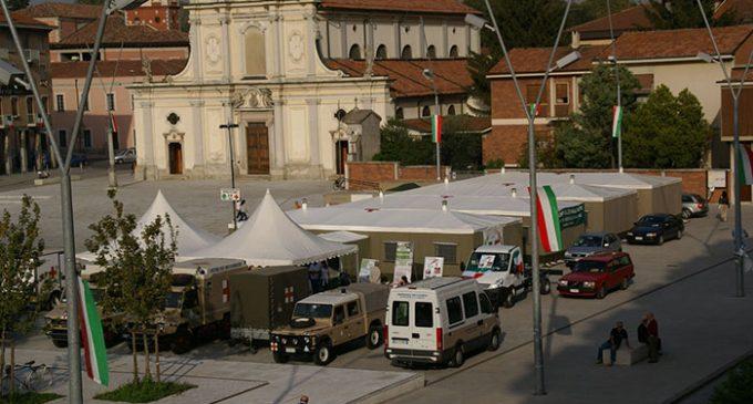 A Bergamo arrivano gli alpini e due volontari di Cinisello Balsamo