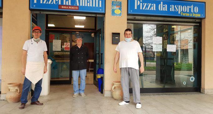 Cormano, pizze omaggio al personale del Niguarda