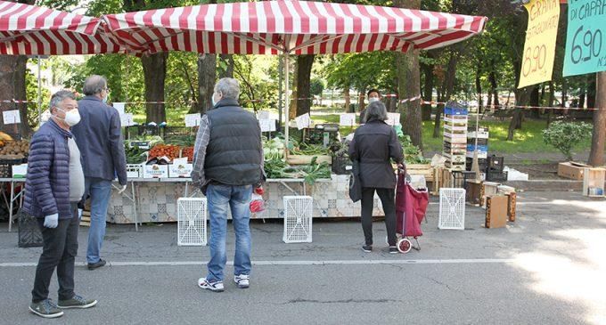Sesto San Giovanni: riaprono i mercati, prove di normalità