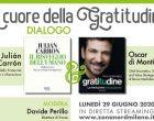 """Nord Milano: """"Al cuore della gratitudine"""", incontro streaming lunedi 29 giugno"""