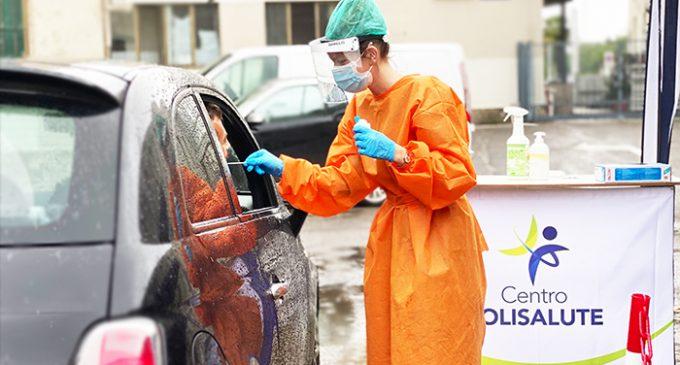 Cinisello Balsamo, al Centro Polisalute il tampone si esegue dall'automobile