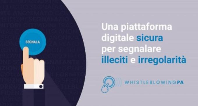 Cinisello Balsamo, nuova piattaforma per segnalare gli illeciti della PA