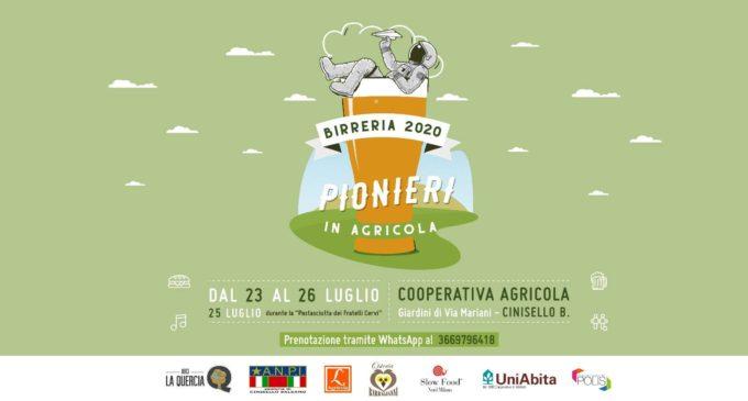 """Cinisello Balsamo, torna """"Pionieri in Agricola"""", fra musica, arte e birra fresca"""