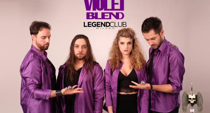 Violet Blend in concerto al Legend Club di Milano