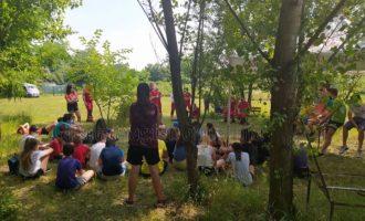 Cormano, al Summer Camp il gruppo cinofilo di Croce Rossa