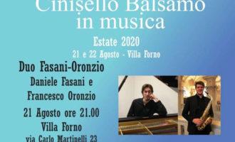 Cinisello Balsamo, due concerti di giovani talenti