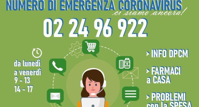 Sesto San Giovanni, riattivato il numero di emergenza coronavirus per la cittadinanza