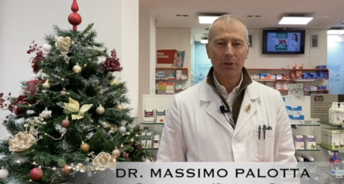 Gli Auguri di Buone Feste del Dott. Massimo Palotta (GUARDA IL VIDEO)